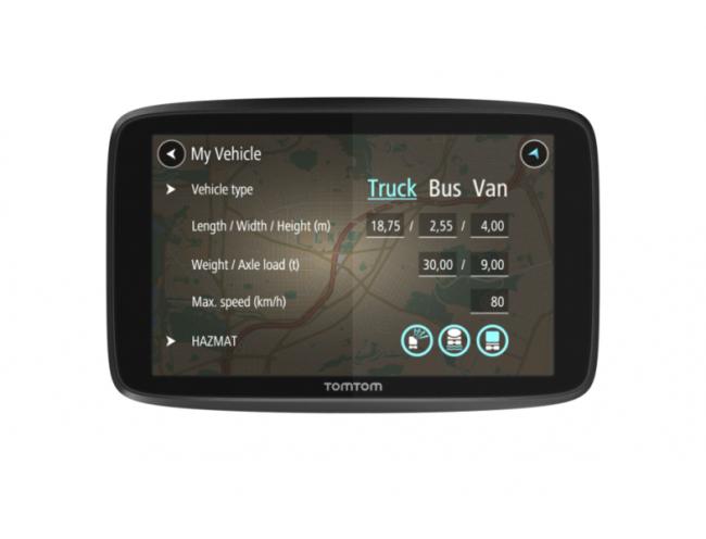 GPS навигация TOMTOM GO PROFESSIONAL 6250 LM с Wi-fi за камион