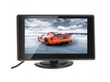 Монитор за камера за задно виждане с 2 видео входа 4.3 инча TFT LCD