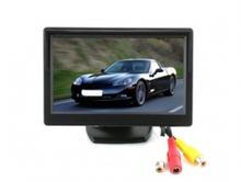 Монитор за камера за задно виждане с 2 видео входа 5 инча TFT LCD