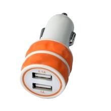 Мини Dual USB зарядно за кола