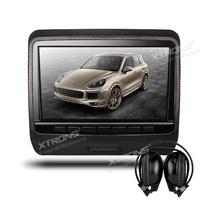 Подглавник за кола HD9PCHDBlack 9 инча СЪС СЛУШАЛКИ HD TFT Монитор, HDMI, DVD, USB
