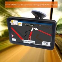Mediatek E9 - навигация за камион с 256MB RAM, ВГРАДЕН СЕННИК