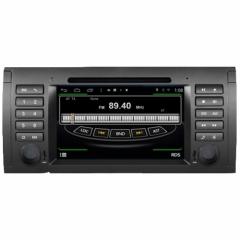 Мултимедия за BMW 5 Series E39/E53/M5 M395G-BM5, Android, QUAD-CORE, DVD, 7 инча