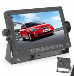 Комплект Монитор 7 инча + Камера за задно виждане ES312 - ЗА КАМИОНИ и АВТОБУСИ