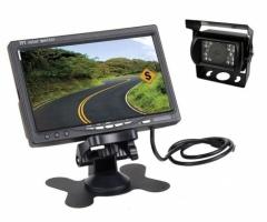 Промоция Камера за камион за паркиране + 7 инчов монитор с 2 видео входа