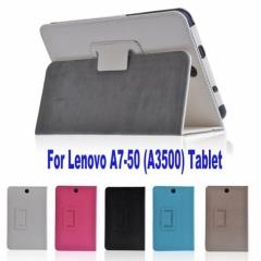 Кожен калъф за таблет Lenovo IdeaTab A3500 A7-50 - 7 инча ПАПКА