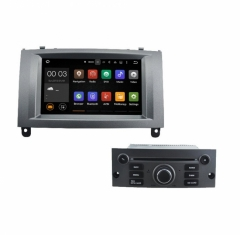 Навигация двоен за PEUGEOT 407 с Android 7.1  I5588G, DVD, GPS, 7 инча