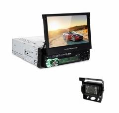 Навигация за камион за вграждане AT 7158G, GPS, Bluetooth, 7 инча + КАМЕРА