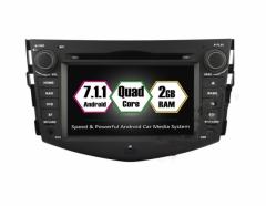 Навигация двоен дин за TOYOTA RAV4 (2006-2011) с Android 7.1 TO0704 GPS, DVD, 7 инча