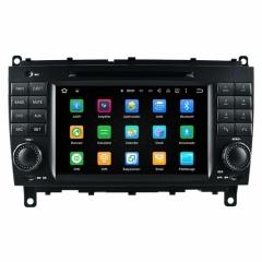 Навигация за Mercedes W209 W219 С Android 5.1 A8812G, GPS, DVD, WiFi, 7 инча