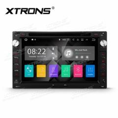Навигация за VW с ANDROID 7.1 PA77MTWP, WiFi, GPS, DVD, 7 инча
