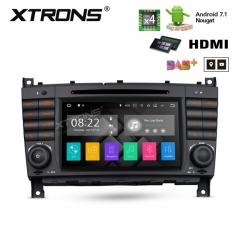 Навигация за Mercedes W209 W203 W463 с ANDROID 7.1 PA77M209P, WiFi, GPS, DVD, 7 инча