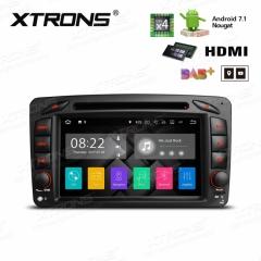 Навигация за Mercedes W203 W209 W463 с ANDROID 7.1 PA77M203P,  WiFi, GPS, 7 инча