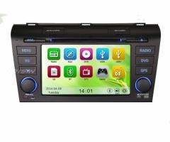 Навигация двоен дин за Mazda 3 ES7638 , WinCE, GPS, DVD, 7 инча