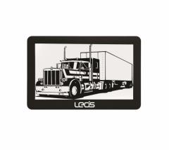 Двуядрена навигация за кола - камиони LEOS TRUCK MATE 7 инча, 2 програми, Сенник