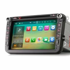 Навигация двоен дин за VW SEAT ES5015V с Android 6.0, GPS, WiFi, 8 инча
