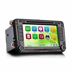 Навигация двоен дин за VW SEAT и SKODA ES7698V GPS, DVD, 7 инча