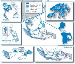 Карта за Garmin City Navigator Югоизточна Азия NT