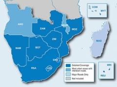 Карта за Garmin City Navigator Южна Африка NT