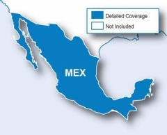 Карта за Garmin City Navigator Мексико NT