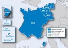 Карта за Garmin City Navigator Europe NT – Бенелюкс Франция