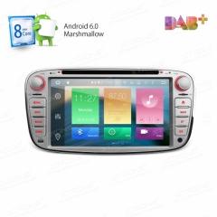 Навигация двоен дин за FORD с Android 6.0 PB76FSFAP-S, GPS, WiFi, 7 инча