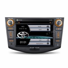 Двоен дин с навигация за PF71RVTS TOYOTA RAV4 2006-2012 GPS, DVD, WinCE, 7 инча