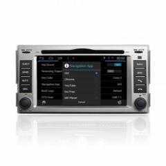 Мултимедия двоен дин за Hyundai Santa Fe (07-12) M008G Android, GPS, DVD, 6.2 инча