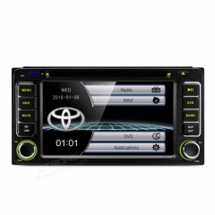 Мултимедия двоен дин за Toyota RAV4, COROLLA,  PF61HGTS , GPS, DVD, 6.2 инча