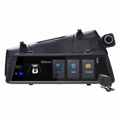 6в1 Огледало за кола LEOS V6 10 инча GPS + Таблет + DVR + 4G + КАМЕРА ЗА ПАРКИРАНЕ