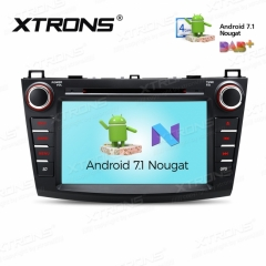 Навигация двоен дин за MAZDA 3 (2010-2013) с Android 7.1 PCD87M3M, GPS, DVD, 8 инча