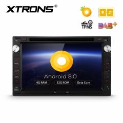 Навигация двоен дин за SEAT Leon, Toledo с Android 8.0, PB78MTWP, WiFi, GPS, 7 инча